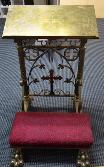 Brass Litany Desk