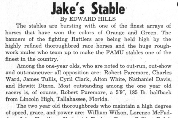 The FAMUAN - November 2, 1959