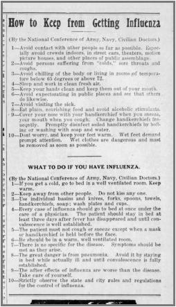 (Daily Democrat, October 10, 1918)