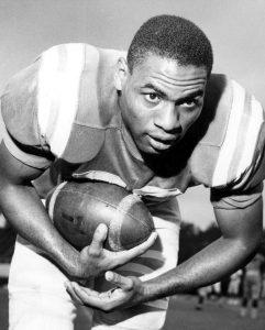 FAMU halfback Robert Paremore, circa 1961. Florida Memory..